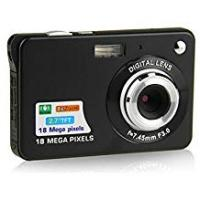 Cameras [Sponsored]ZOOMK Camera Digital Cameras - 2.7 inch 18 MP Cameras for Family,Friends,School,Students,Holiday ( Black)