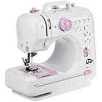 Mini Sewing Machines Electric Overlock Sewing Machine Small Household Sewing Tool 2 Speed 12 Stitches
