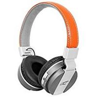 Plantronics Headphone Splitters MIZZO LTC Headphones Leather AUX IN Memory Card Slot BT Bluetooth (Brown)