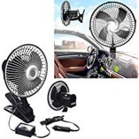 Boat Coolers dash fan 12v boat cooler Motorhome POWERFULL summer clip on clamp 6
