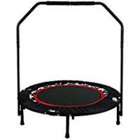 Foldable Trampoline With Stabilizing Bar FastDirect Unisex Adult 40