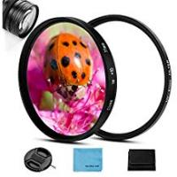 Camera For Close Up Pictures 52mm Close-up Filter,Macro Filter Close-up Lens +10 Diopter Filter UV Filter with Lens Filter Pouch for Canon Nikon Sony Pentax Olympus Fuji DSLR Camera+Lens Cap