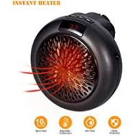 Garage Heater Installation GESUNDHOME Electric Heater - Mini Fan Heater Household Portable Handy Space Heater Warmer With LED Display 1000W For Home/Office/Camper (Version 1)